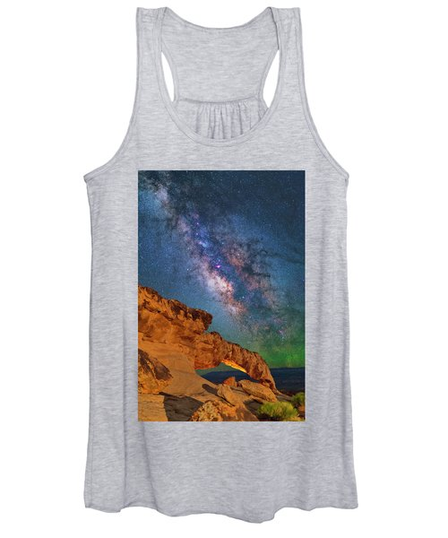 Riding Over The Arch Women's Tank Top