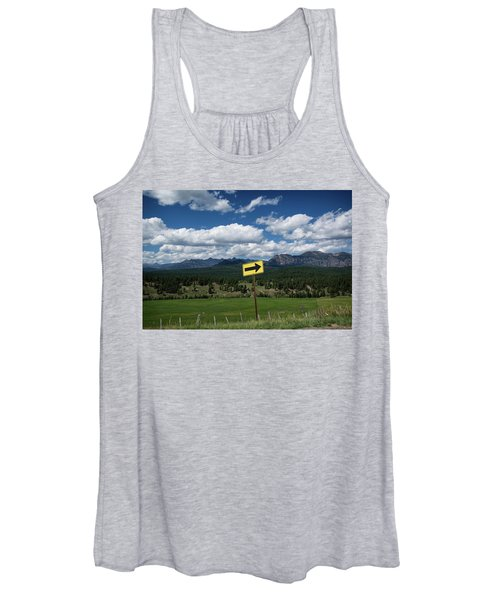 Right This Way Women's Tank Top