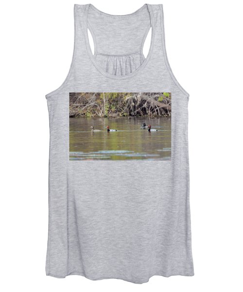 Ringed-necks And Redheads Women's Tank Top