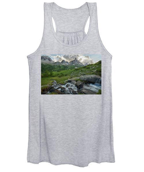 River In The French Alps Women's Tank Top