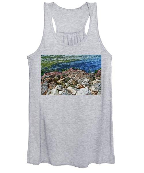River Rocks Women's Tank Top