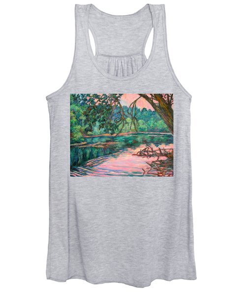Riverview At Dusk Women's Tank Top