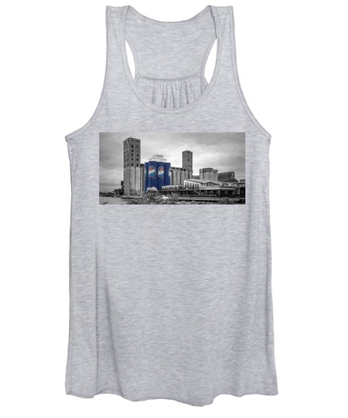 Riverworks Blue Women's Tank Top