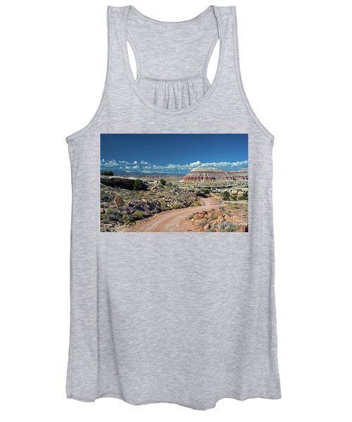 Road To Cathedral Valley Women's Tank Top