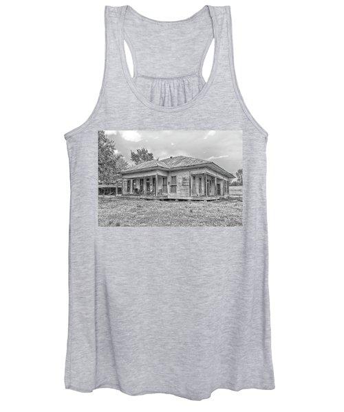 Roadside Old House Women's Tank Top