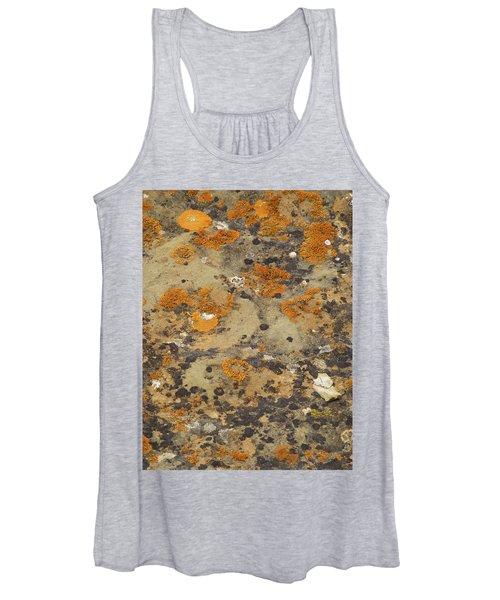 Rock Pattern Women's Tank Top