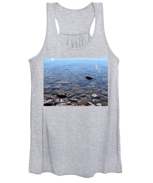 Rocks In Calm Waters Women's Tank Top