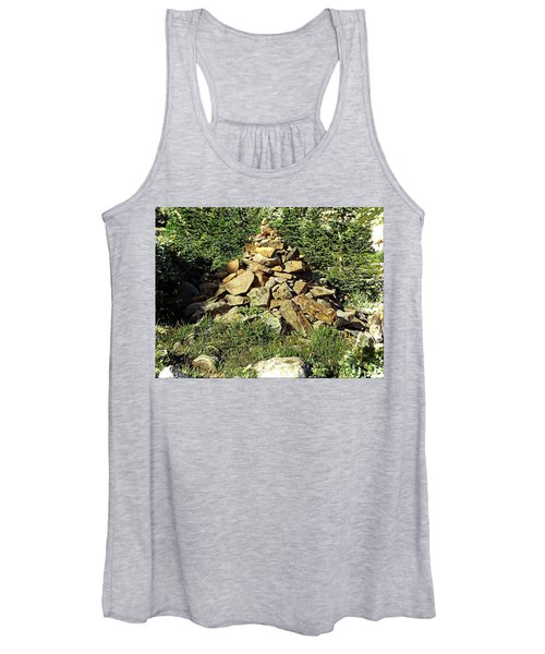 Rocky Mountain Cairn Women's Tank Top