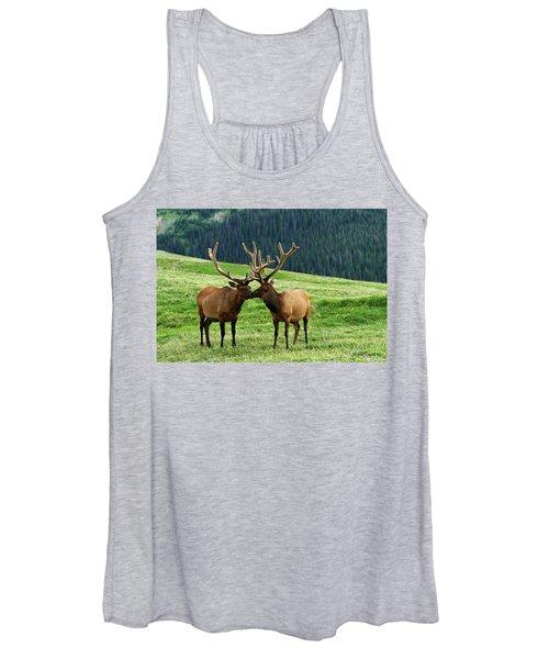 Rocky Mountain Elk 2 Women's Tank Top