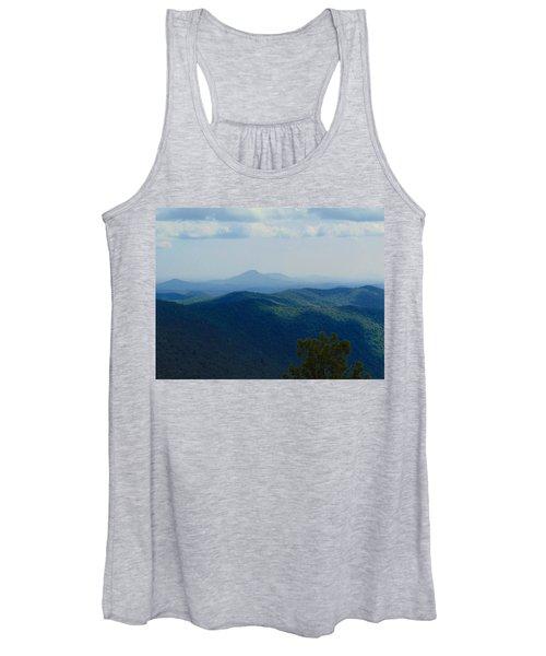 Rocky Mountain Overlook On The At Women's Tank Top