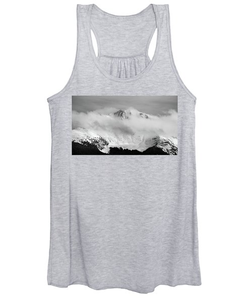 Rocky Mountain Snowy Peak Women's Tank Top