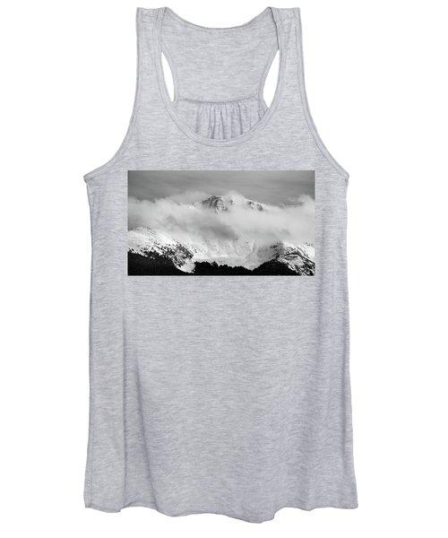 Rocky Mountain Snowy Peak Women's Tank Top
