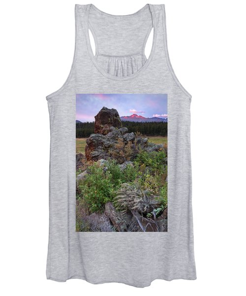 Rocky Mountain Sunrise Women's Tank Top