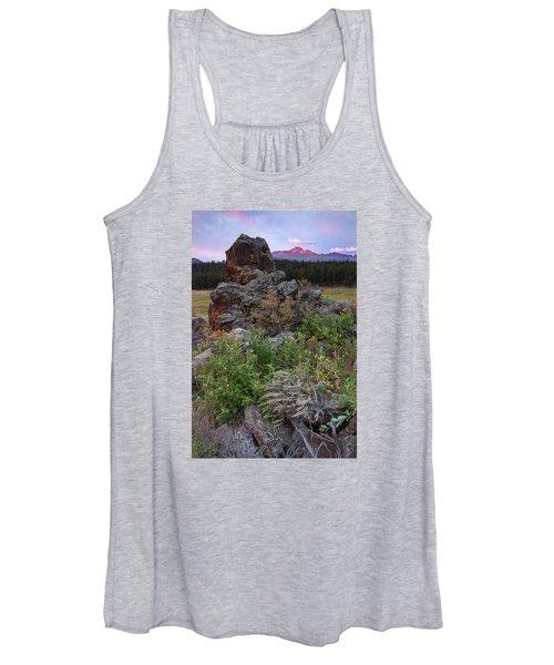 Rocky Mountain Sunrise Women's Tank Top