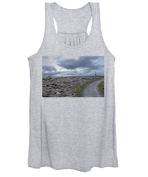 Rocky Road To The Lighthouse Women's Tank Top