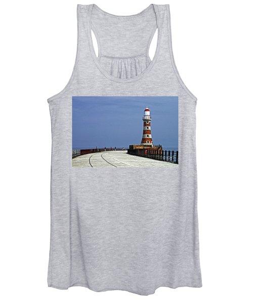 Roker Lighthouse Sunderland Women's Tank Top