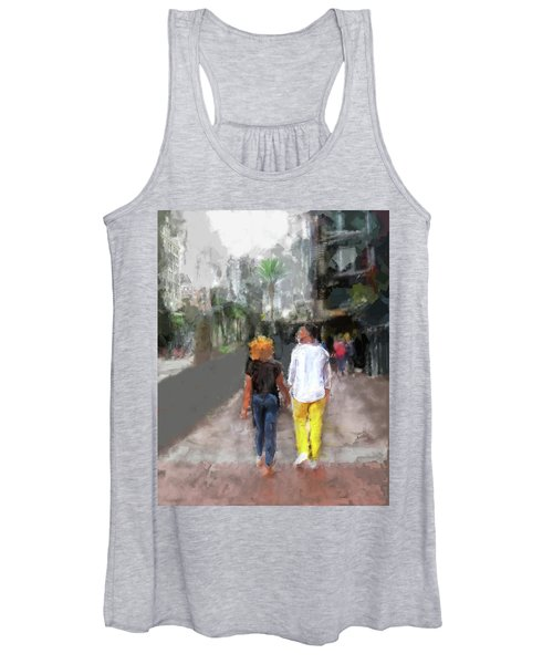 Romantic Couple Women's Tank Top