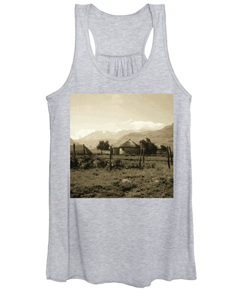 Rondavel In The Drakensburg Women's Tank Top