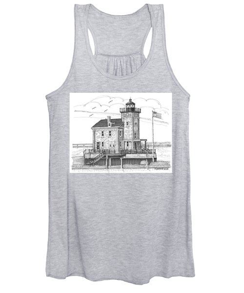 Rondout Lighthouse Women's Tank Top