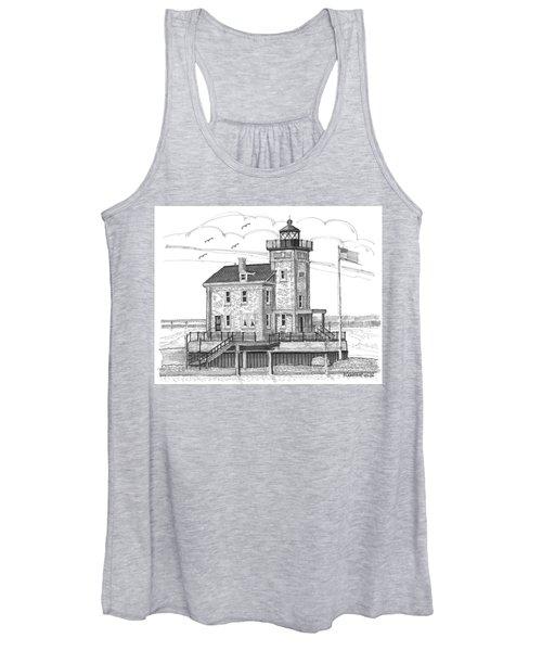 Rondout Lighthouse Women's Tank Top