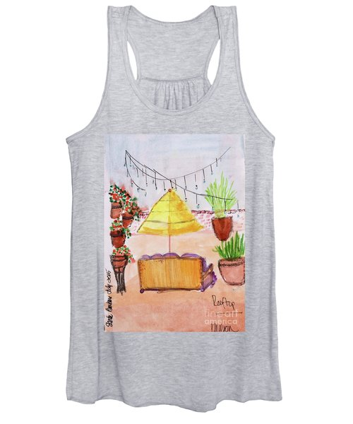 Rooftop At The Canary Women's Tank Top