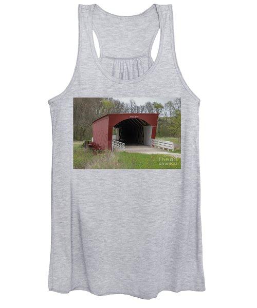 Roseman Covered Bridge - Madison County - Iowa Women's Tank Top