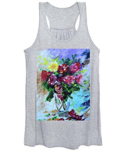 Roses Women's Tank Top
