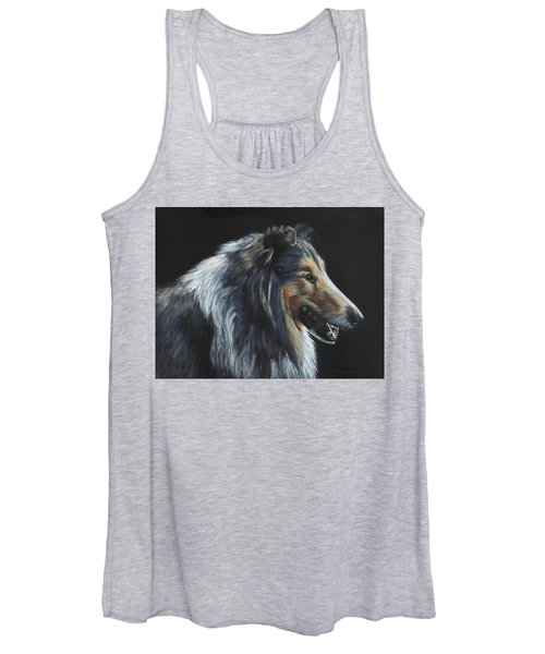Rough Collie Women's Tank Top