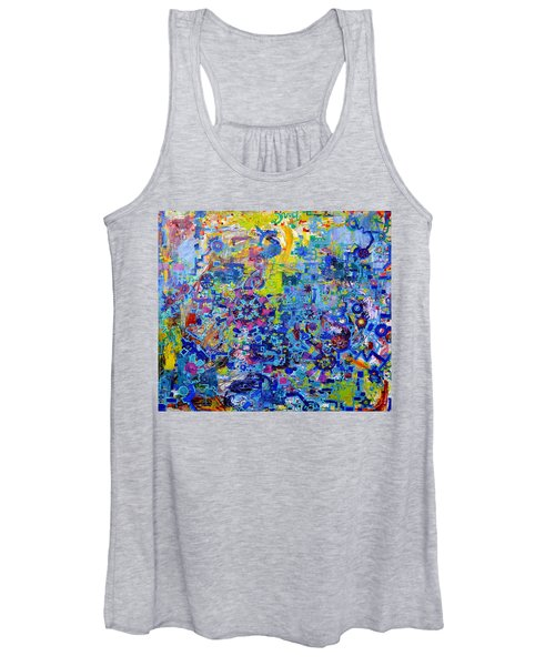 Rube Goldberg Abstract Women's Tank Top
