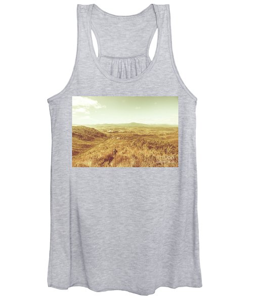 Rugged Bushland View Women's Tank Top