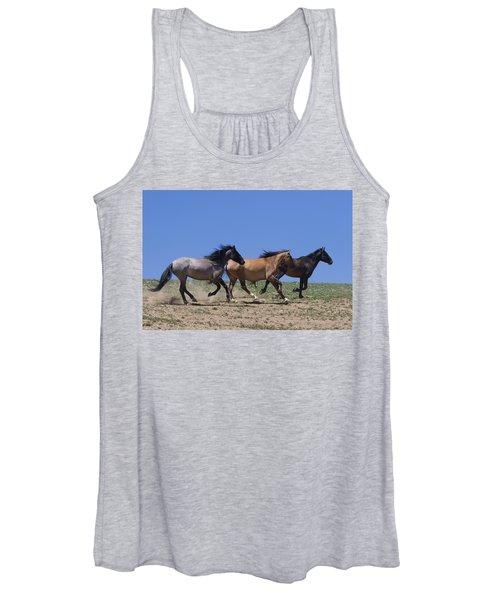 Running Free- Wild Horses Women's Tank Top