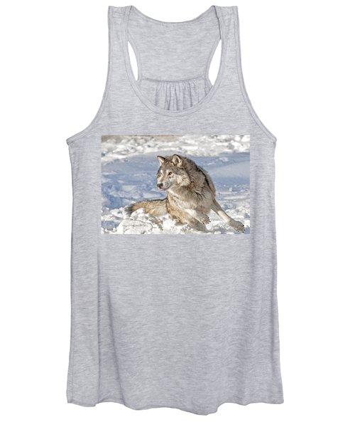 Running Wolf Women's Tank Top