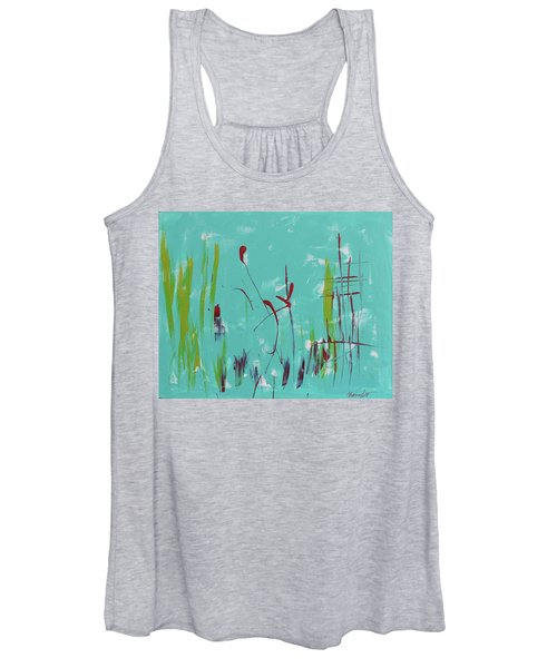 Rushes And Reeds Women's Tank Top