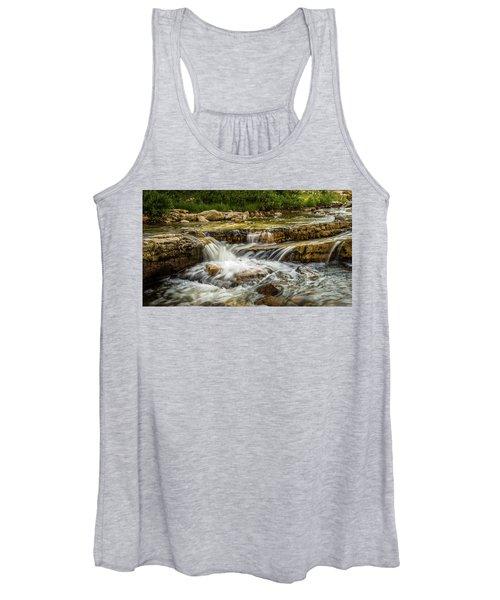 Rushing Waters - Upper Provo River Women's Tank Top