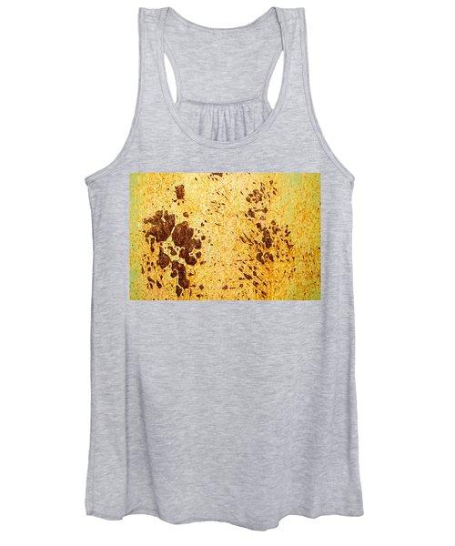 Rust Metal Women's Tank Top