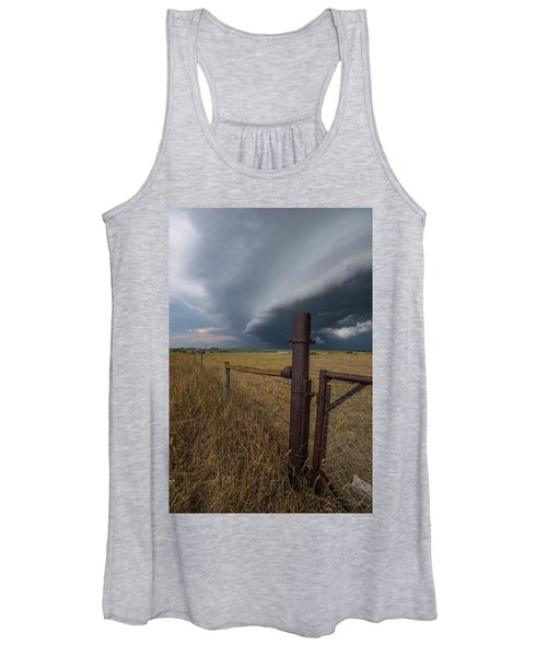 Rusty Cage  Women's Tank Top