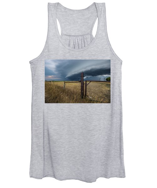 Rusty Cage Horizontal  Women's Tank Top