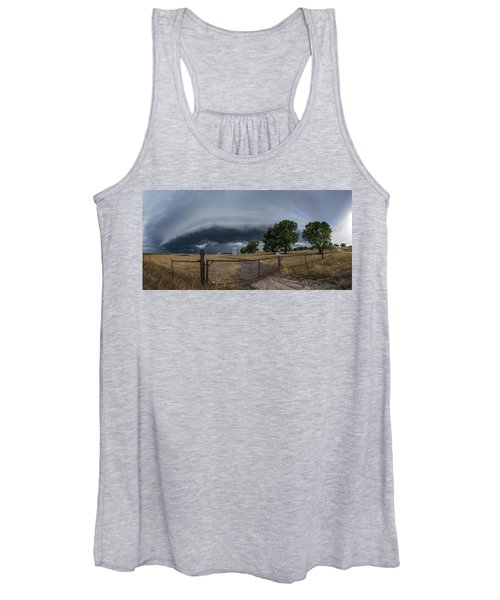 Rusty Cage Pano  Women's Tank Top