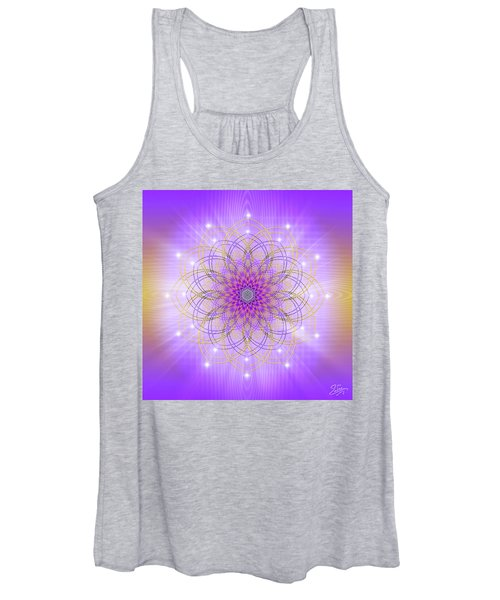 Sacred Geometry 721 Women's Tank Top