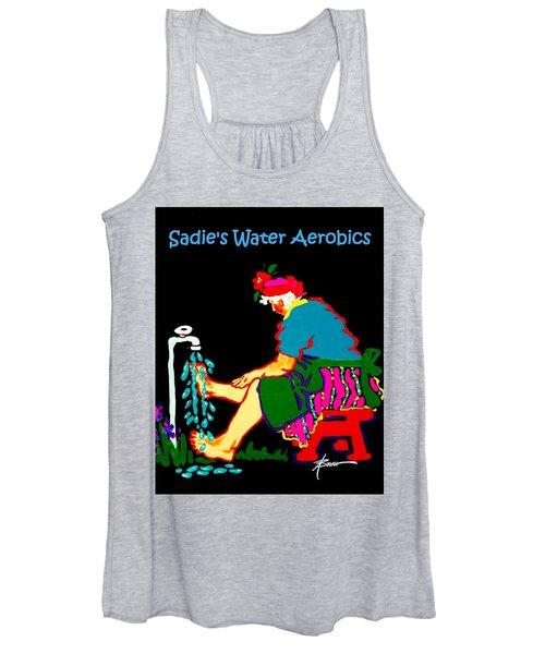 Sadie's Water Aerobics  Women's Tank Top