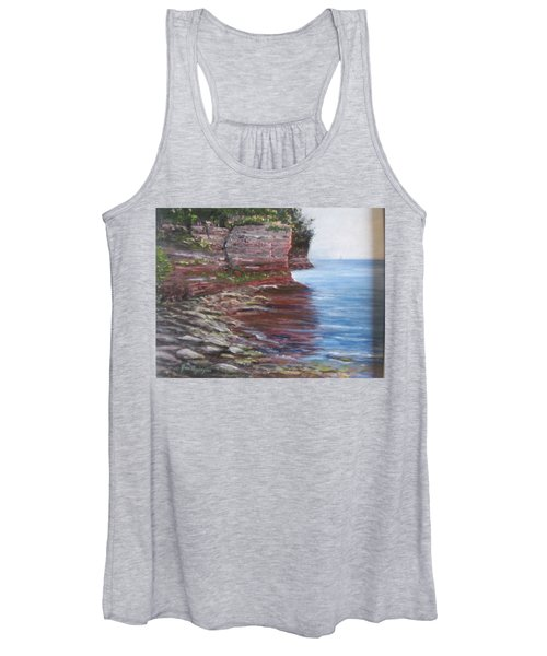 Sail Into The Light Women's Tank Top