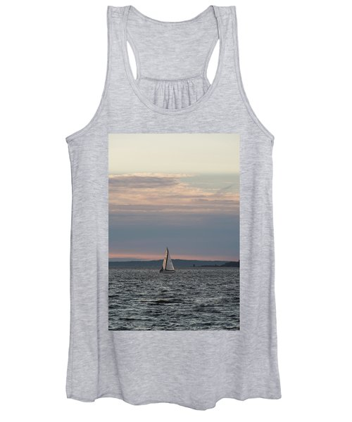 Sailing In The Puget Sound Women's Tank Top