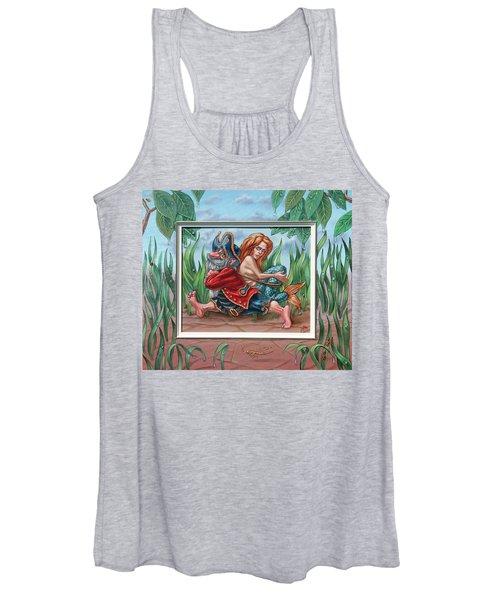 Sailor And Mermaid Women's Tank Top