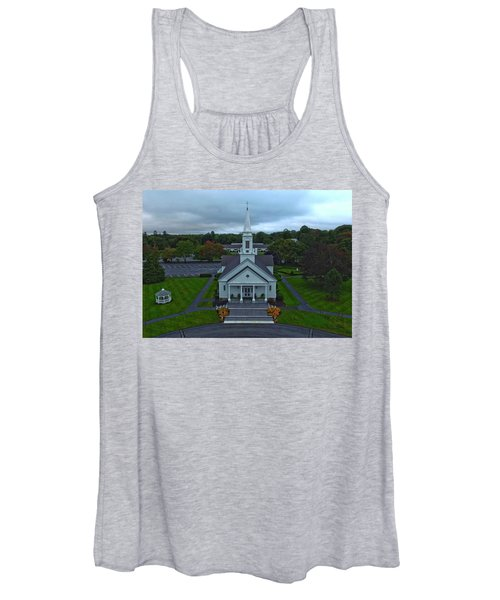 Saint Mary's Church From Above Women's Tank Top