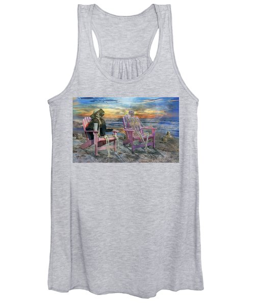 Sam Shares Tales With An Old Friends Women's Tank Top