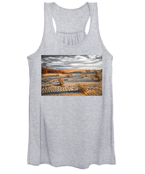 Sand Dune Wind Carvings Women's Tank Top