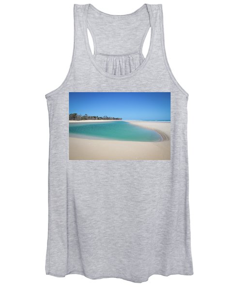 Sand Island Paradise Women's Tank Top