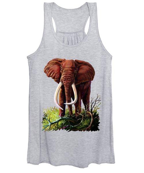 Satao II - The Elephant Women's Tank Top