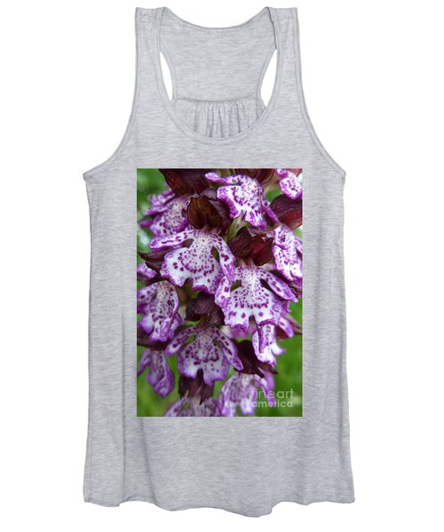 Savage Orchid 2 Women's Tank Top