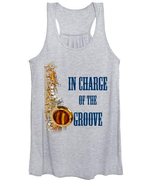 Saxophones In Charge Of The Groove 5532.02 Women's Tank Top